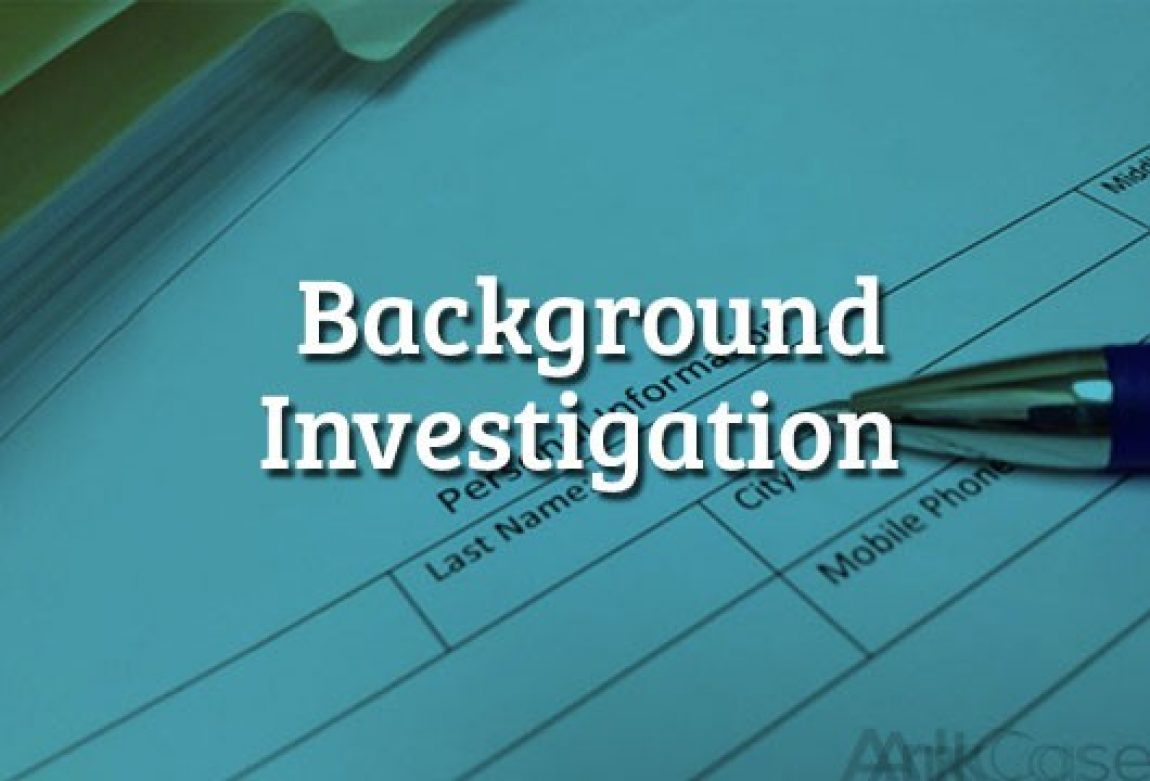 Background-Investigation