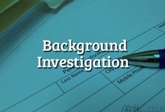 Background-Investigation