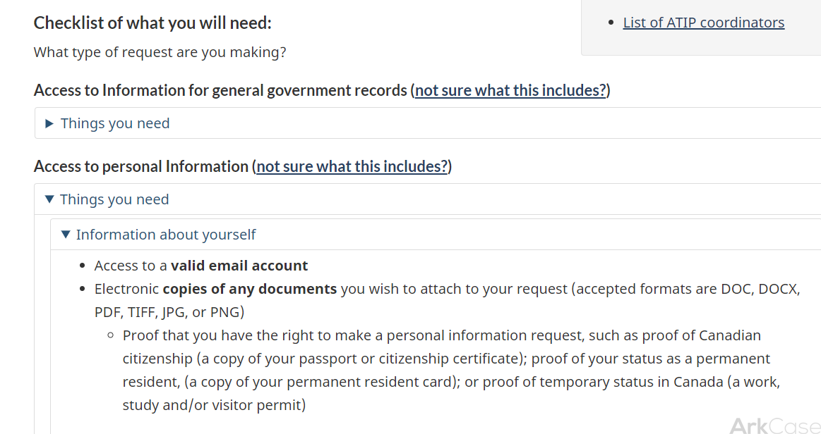 The complex process of submitting a request