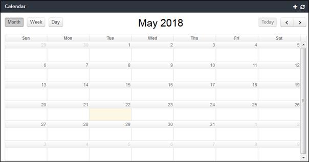 View Complaint Calendars