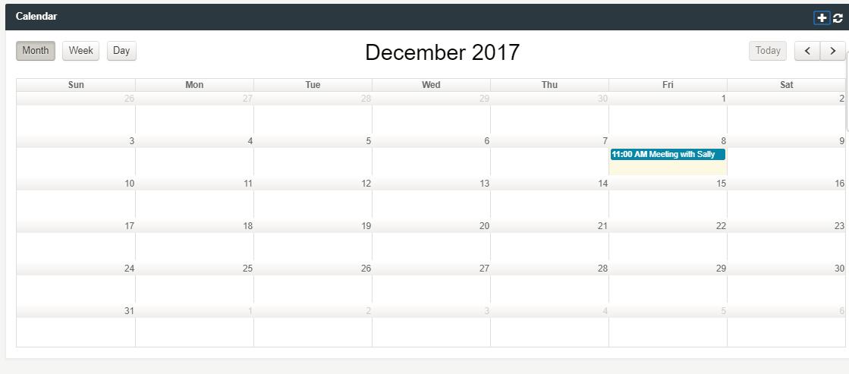 Enhanced Calendar Functionality
